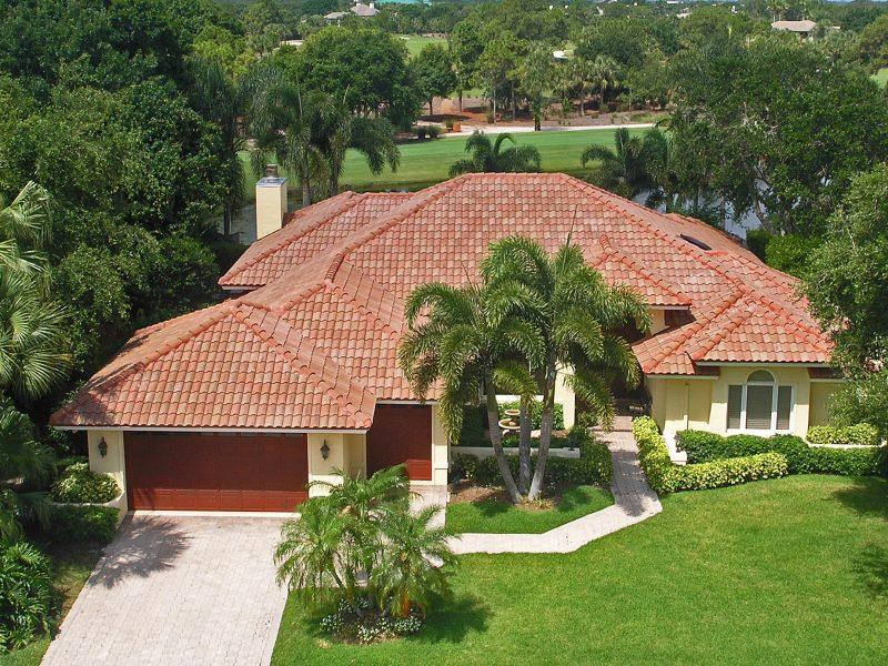 Barrel Tile Roof