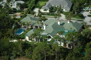 Custom Jupiter Island Roof