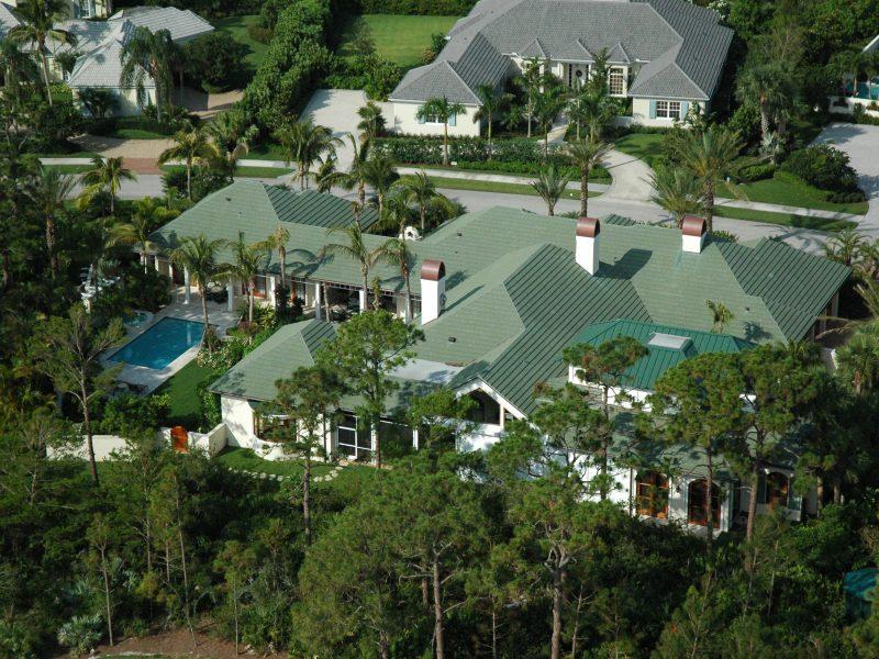 Custom Jupiter Island Roof