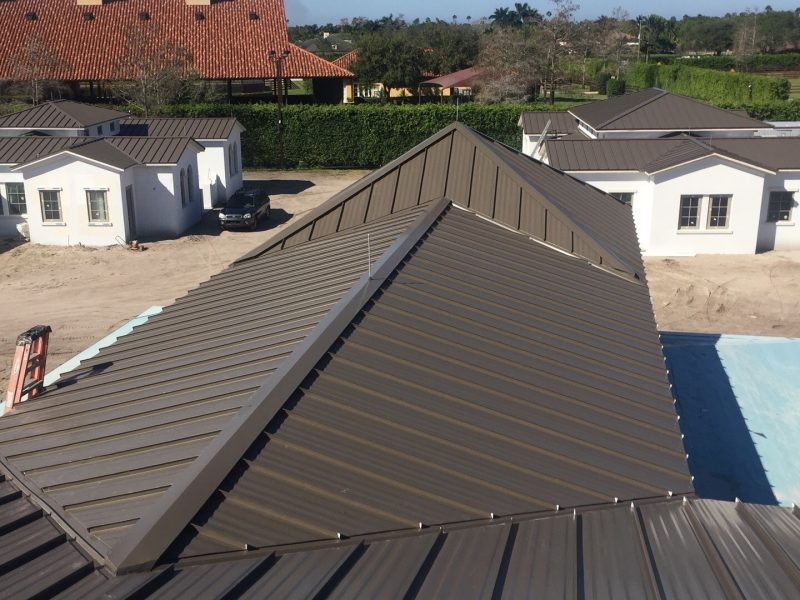 Drexel Standing Seam Roof - Wellington, FL