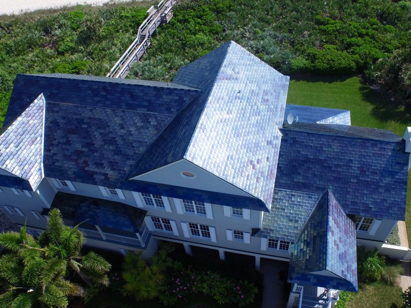 Blue Metal Roof
