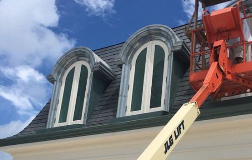 Custom Metal Roof Work